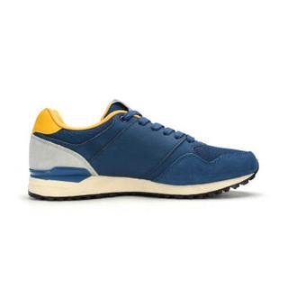 XTEP 特步 987319112536 男士跑步鞋 深兰黄 43码