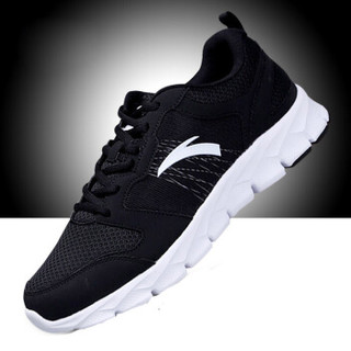 ANTA 安踏 91625512-3 男士跑步鞋 黑/安踏白 42