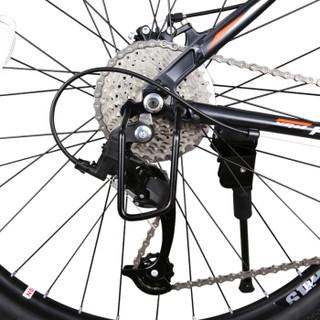 永久30速山地车自行车 男女式单车/27.5寸/锁死前叉/建大轮胎 R100 黑绿色
