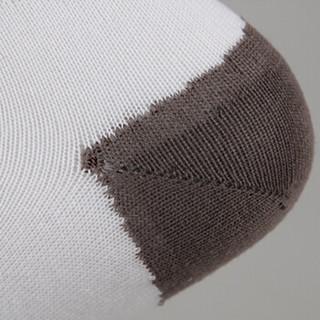 斯伯丁Spalding袜子40005-02男士长筒袜休闲运动袜棉一双装白色26-28
