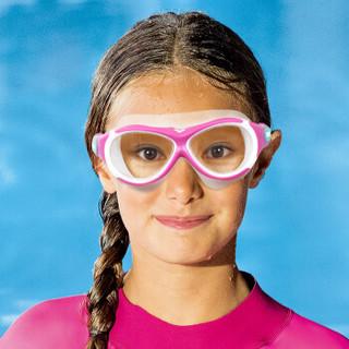 arena 阿瑞娜 AGG390J-PNK 防水防雾高清大框儿童泳镜 粉色