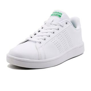 adidas 阿迪达斯 AW3914 男女COURT绿尾网球文化小白鞋 白色 40