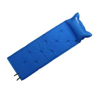 牧高笛(MOBIGARDEN) 单人露营自动充气防潮垫可拼接户外草坪垫SP MF092004 天蓝