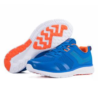 361° 361度 671712229-1 男士跑步鞋 (42、威权蓝/火热橙)