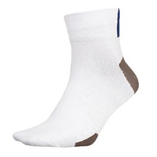 SPALDING 斯伯丁 40004-02 男士运动短袜 (白色、26-28)
