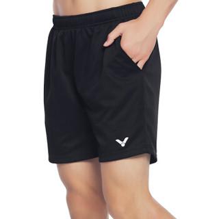 VICTOR 威克多 R-3096 男款运动短裤 (黑色 M)