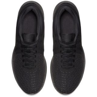 NIKE 耐克 REVOLUTION 4 908999-002 女子跑步鞋 黑/黑 36.5