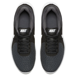 NIKE 耐克 Revolution 4 女子跑鞋 908999-001 黑/白 36.5