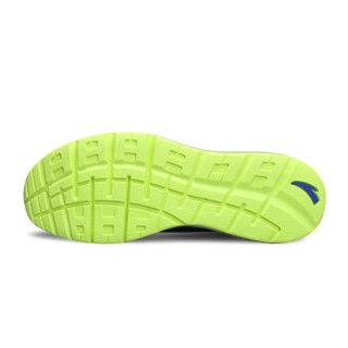 ANTA 安踏 91625505-2 男士全掌气垫跑步鞋 正蓝/浅军月/安踏白/荧光绿 42