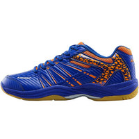 川崎KAWASAKI 羽毛球鞋 透气防滑耐磨运动鞋 男女鞋 训练休闲鞋 K-061D 蓝色 44码