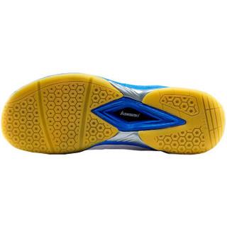 KAWASAKI 川崎 K-061D 男女羽毛球鞋 (白色、40)