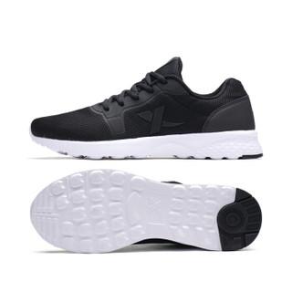 XTEP 特步 982119119313 男士跑步鞋 黑 45码
