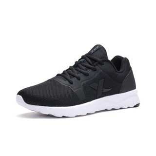 XTEP 特步 982119119313 男士跑步鞋 黑 40码