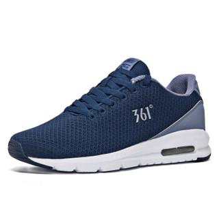 361° 361度 671822214-2 男士跑步鞋 (40、庄园蓝/雾紫灰)