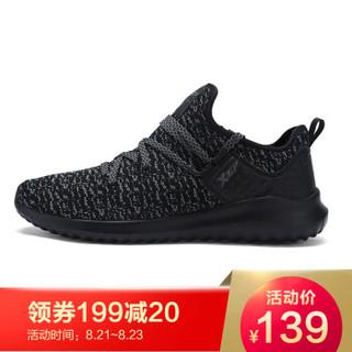 XTEP 特步 983319119202 男士跑鞋 黑灰 42码