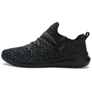 XTEP 特步 983319119202 男士跑鞋 黑灰 40码