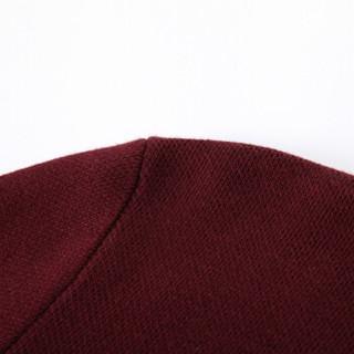 Semir 森马 14316071016 男士圆领套头针织衫 蓝红色调 S