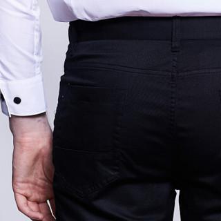 goldlion 金利来 XKOZ069-GB203 时尚休闲裤 黑色 36