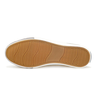 WARRIOR 回力 WXY-966 男士一脚蹬帆布鞋 灰色 44