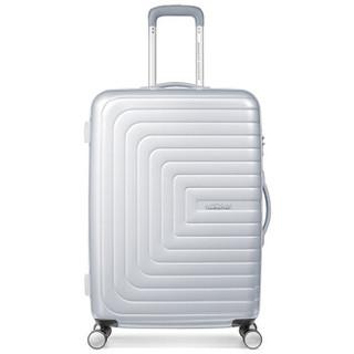 AMERICAN TOURISTER 美旅 AQ9 商务拉杆箱 银色 26寸