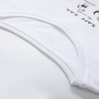 Semir 森马 19048001257 男士短袖T恤 漂白 XS
