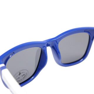 迪士尼(Disney)儿童偏光太阳镜男女童防炫目墨镜小孩防紫外线眼镜 58C5蓝色