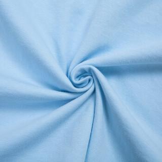 Semir 森马 12216001030 男士印花短袖T恤 浅蓝 S