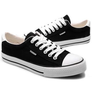 WARRIOR 回力 WXY45A 中性帆布鞋 黑色 41
