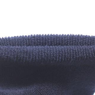 浪莎袜子男毛圈中筒商务休闲男士短袜 黑2深灰2藏青1 均码