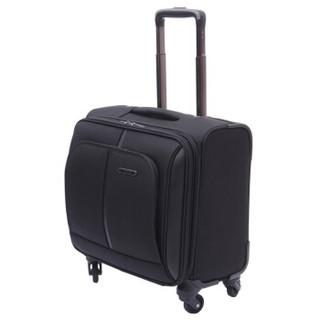 Diplomat 外交官 DE-1551G 万向轮商务登机箱 黑色 16英寸