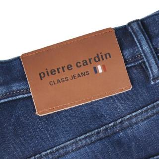 pierre cardin 皮尔·卡丹 203682-2-0808 男士弹力牛仔裤 蓝色 38