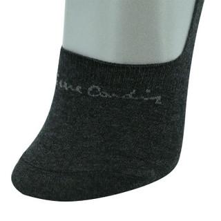 皮尔卡丹袜子男短筒船袜桑蚕丝透气隐形低帮运动男袜子混色均码3双装