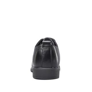 YEARCON 意尔康 7102ZR97753W 男士商务正装皮鞋 黑色 40
