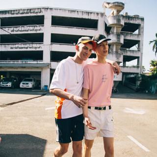 ViiSHOW TD1522182 男士短袖T恤 粉色 L