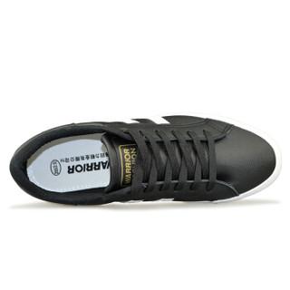 WARRIOR 回力 WXY-892 男士休闲板鞋 白黑 43