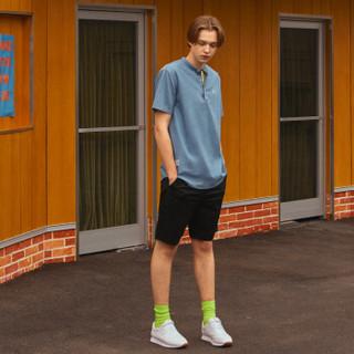 A21 4821044011 男士低腰弹力休闲短裤 黑色 XL