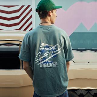 ViiSHOW TD1279182 男士圆领短袖T恤 绿色 M