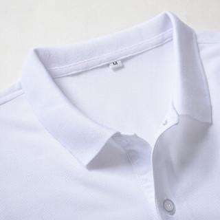 CARTELO 17080KE8008 男士短袖翻领POLO衫 男款白色 L