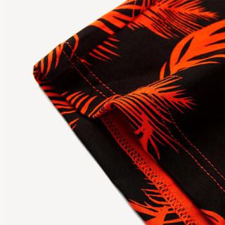 HLA 海澜之家 HUKAJ1E028A 男士内裤 (175/100(XL)、深橙花纹)