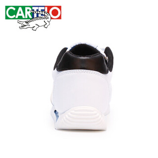 CARTELO 卡帝乐鳄鱼 KDL706 男士休闲运动鞋 黑白 44
