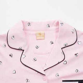 FENTENG 芬腾 J9614952 女士纯棉开衫家居服 (M、粉色)