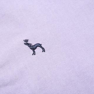 ROMON 罗蒙 8CS938806 男士纯色印花短袖衬衫 浅紫 44