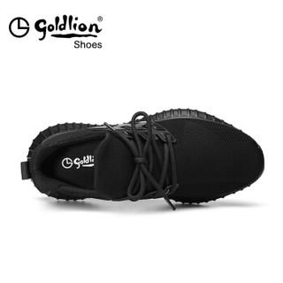 goldlion 金利来 537820267APQ 男士户外运动鞋 黑色 41