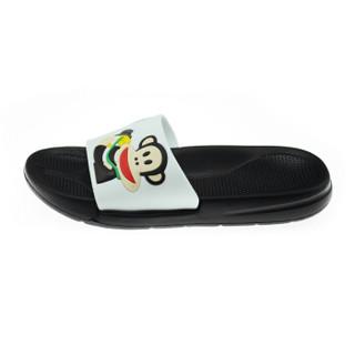 PAUL FRANK 大嘴猴 PF637 男女士沙滩拖鞋 白色 43
