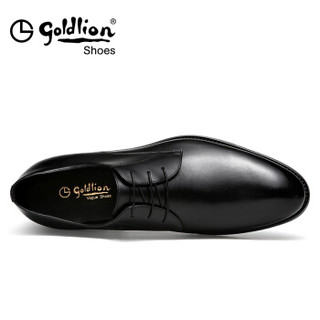 goldlion 金利来 502740431ACA 男士正装皮鞋 黑色 39