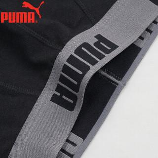 PUMA 彪马 651500002 男士平角裤 黑色 XXXL(185/95)