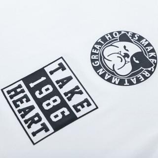 Semir 森马 19048001304 男士短袖t恤 漂白 XXXL