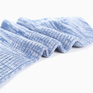 INTERIGHT 棉质 男士竖条花纱运动休闲袜 6双装