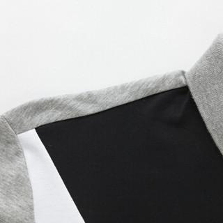 Semir 森马 12216001020 男士POLO领短袖T恤 中花灰 XXL