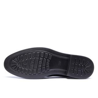 AOKANG 奥康 G93211020 男士商务正装皮鞋 黑色 41